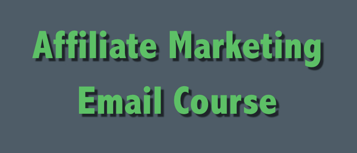 affiliate marketing email course