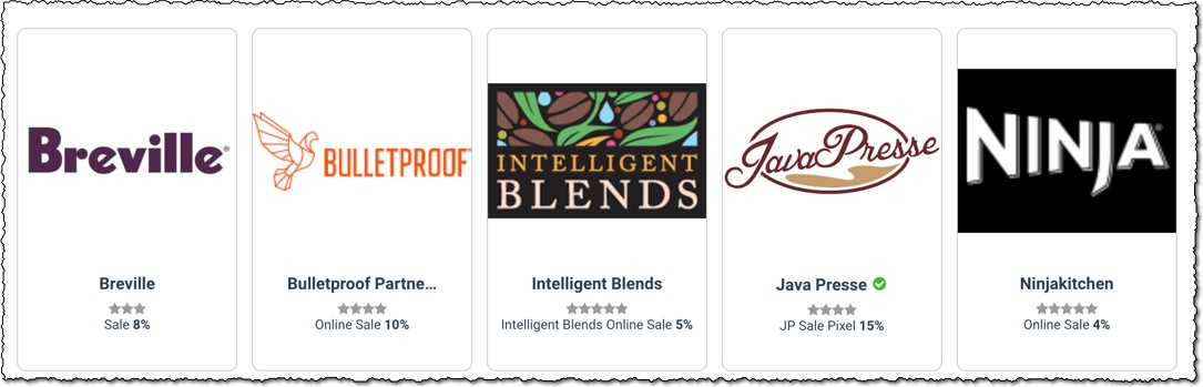 coffee affiliate programs