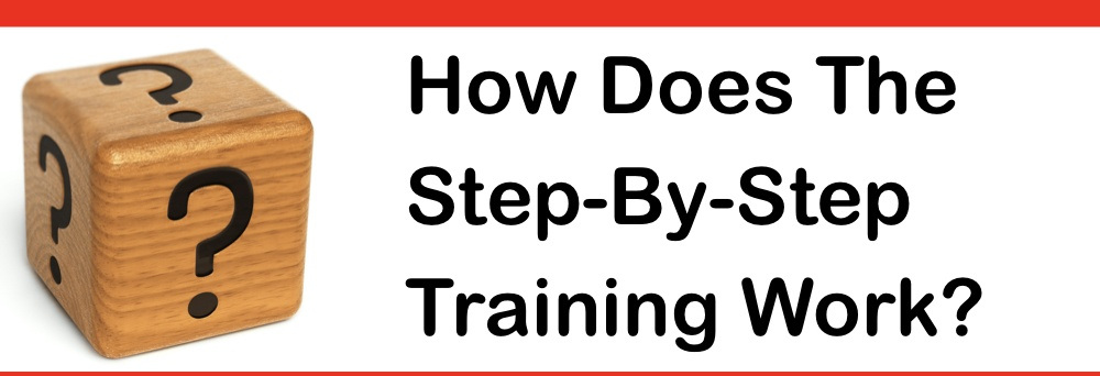how does step by step training work
