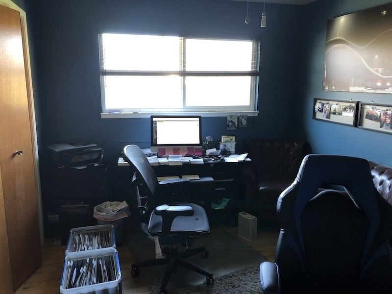 inside my office