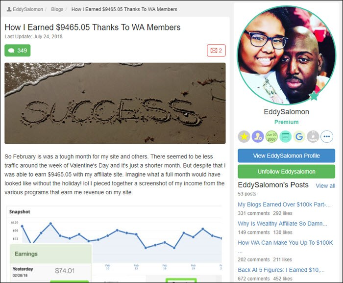 Success story from EddySalomon