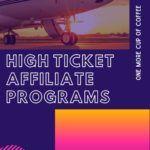 High Ticket Affiliate Programs Pinterest Image