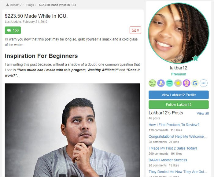Success story from Lakbar12