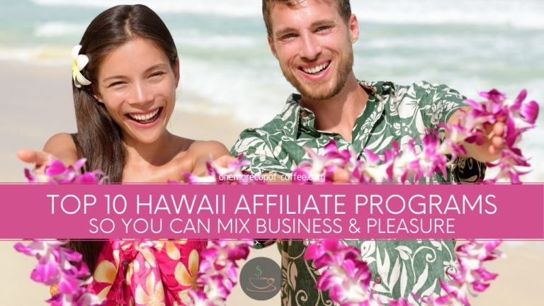 Top 10 Hawaii Affiliate Programs So You Can Mix Business & Pleasure featured image