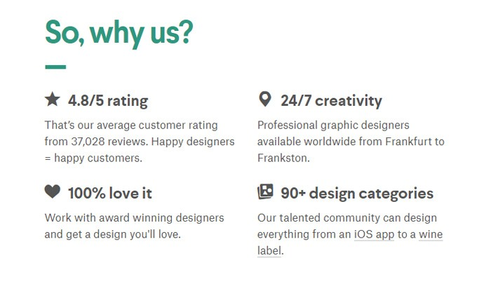 Why Use 99Designs