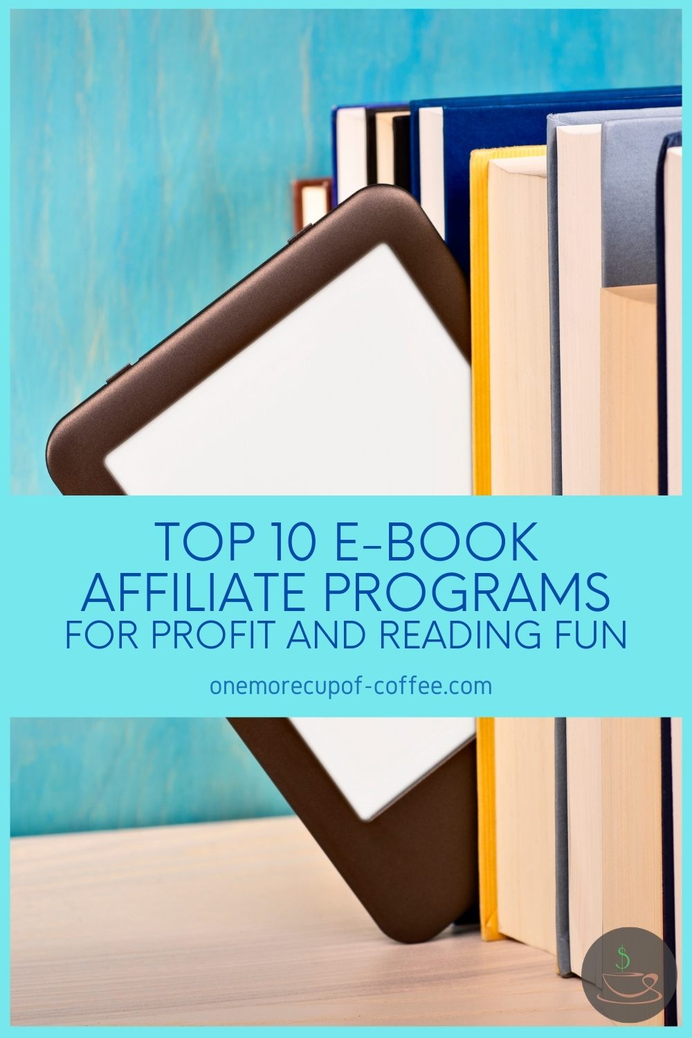 screenshot of Top 10 E-Book Affiliate Programs For Profit And Reading Fun homepage