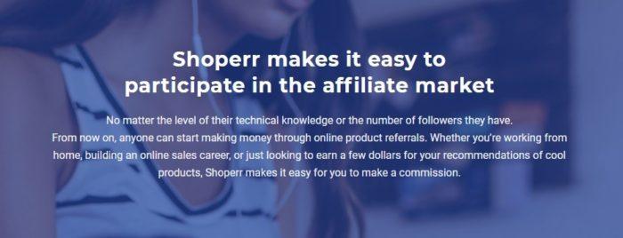 Shoperr Makes It Easy