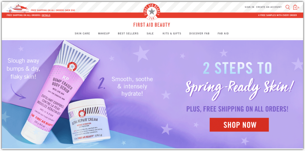 first aid beauty affiliate program