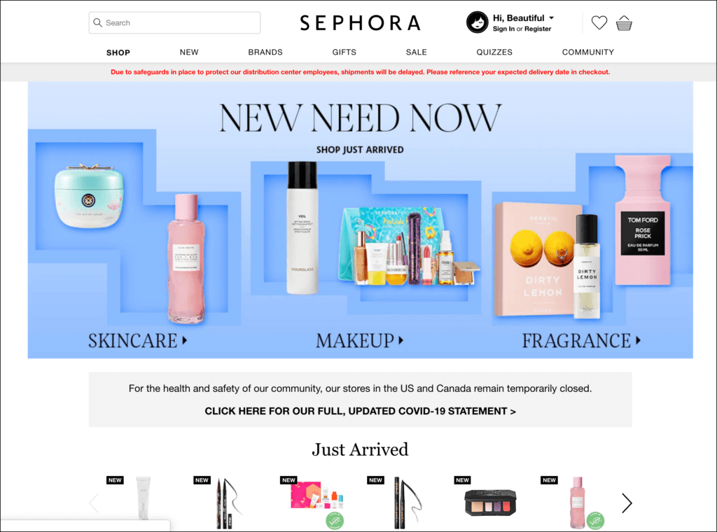 sephora skincare affiliate program