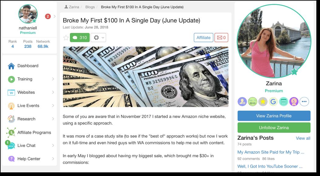 100 dollar day
