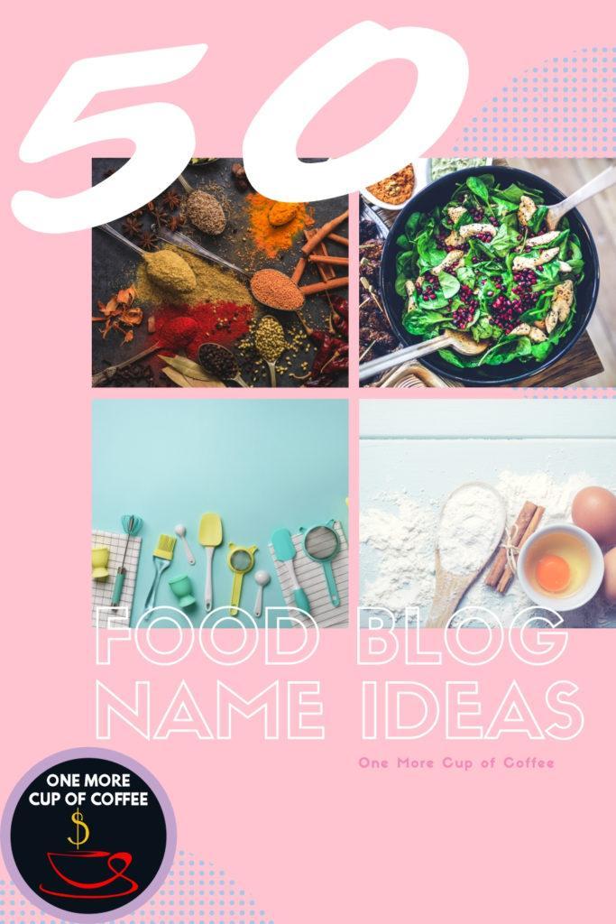 food blog name ideas