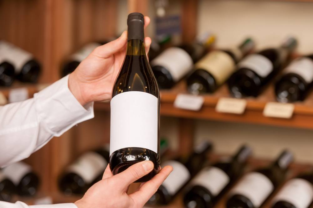 white label wine ready for personal branding