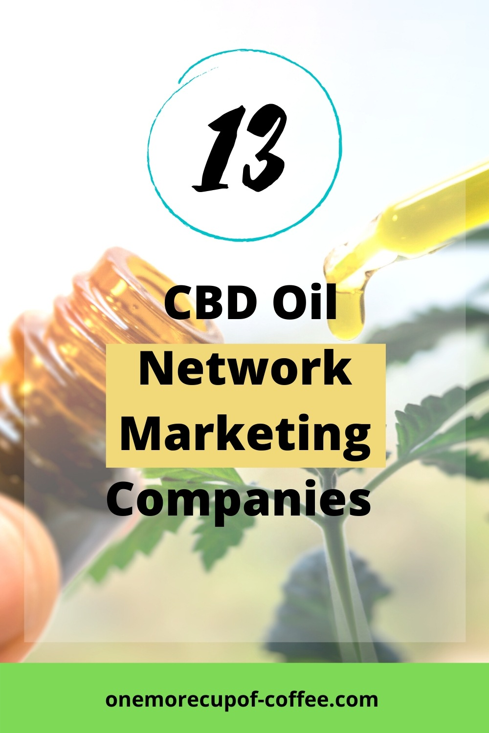 Pouring Oil to represent Network Marketing Companies