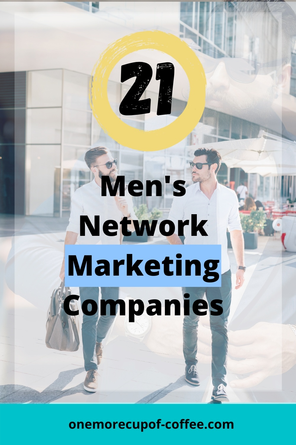 Two men in suits to represent Men's Network Marketing Companies