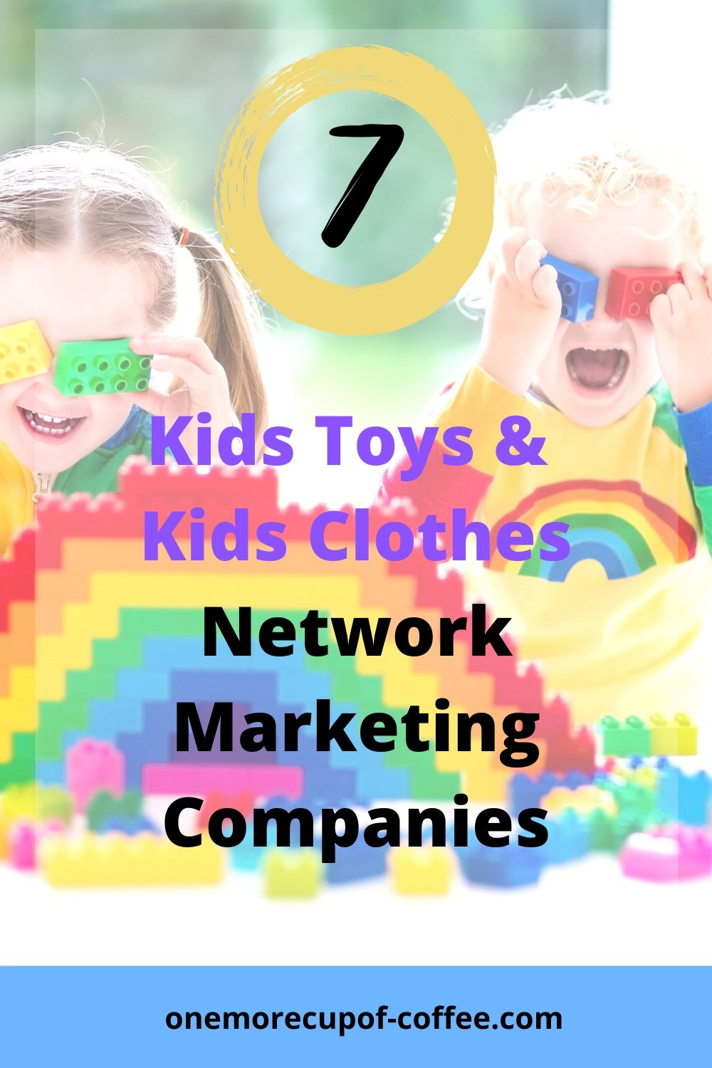 Kids playing with toys to represent Network Marketing Companies
