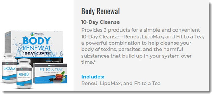 Body Renewal from First Fitness Nutrition