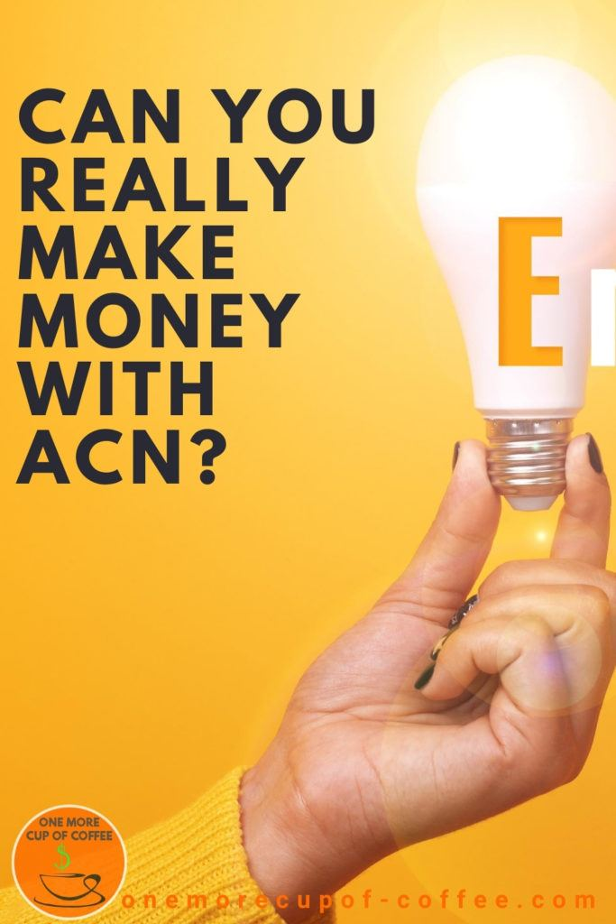 closeup image of hand holding a light bulb with the letter E on it against a yellow background, with text overlay