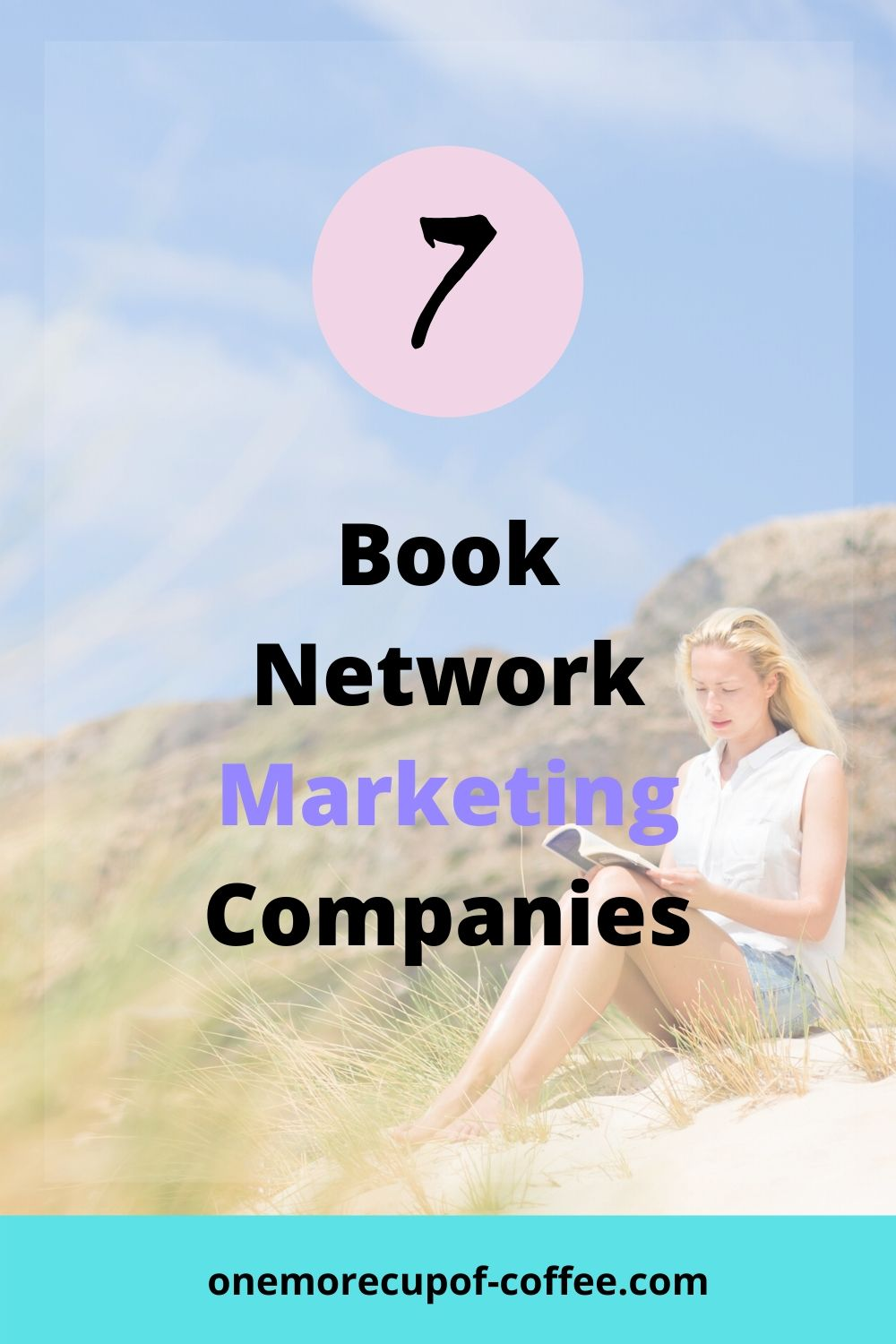 Woman reading Book to represent Book Network Marketing Companies
