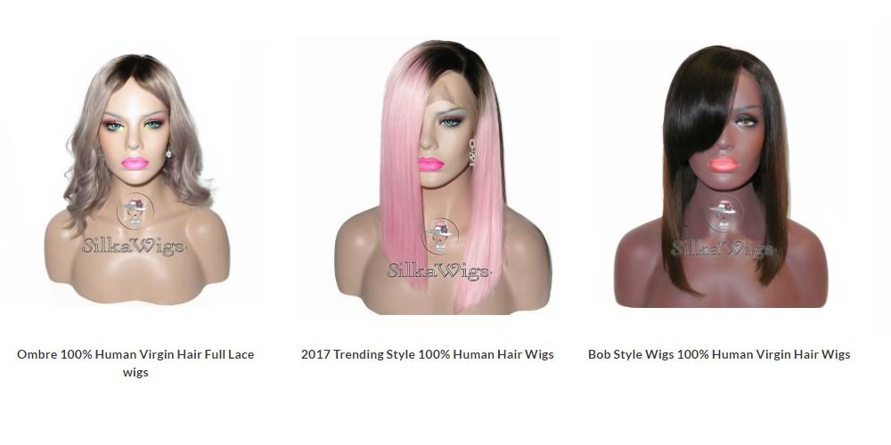 Silka wigs home page