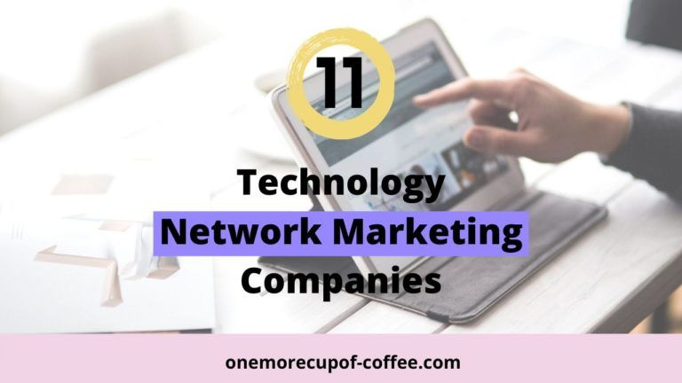 Finger pointing at IPAD to represent Technology Network Marketing Companies