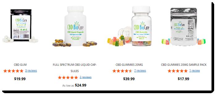 CBD Oil Products From CBD BioCare