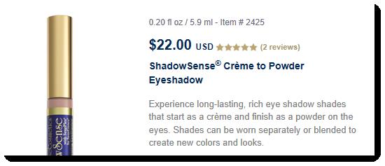 ShadowSense Eyeshadow