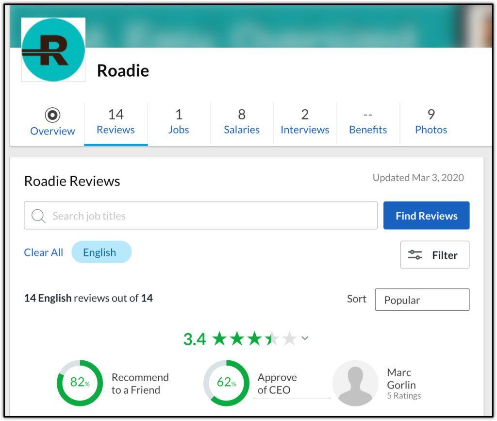 roadie custom reviews