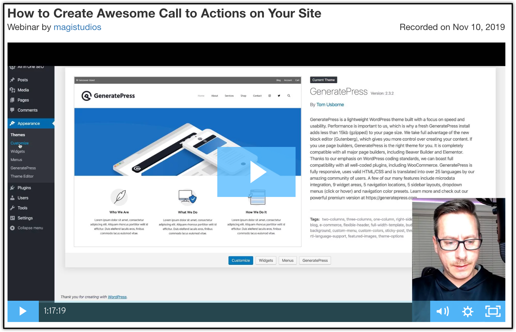 webinar - how to create awesome call to actions