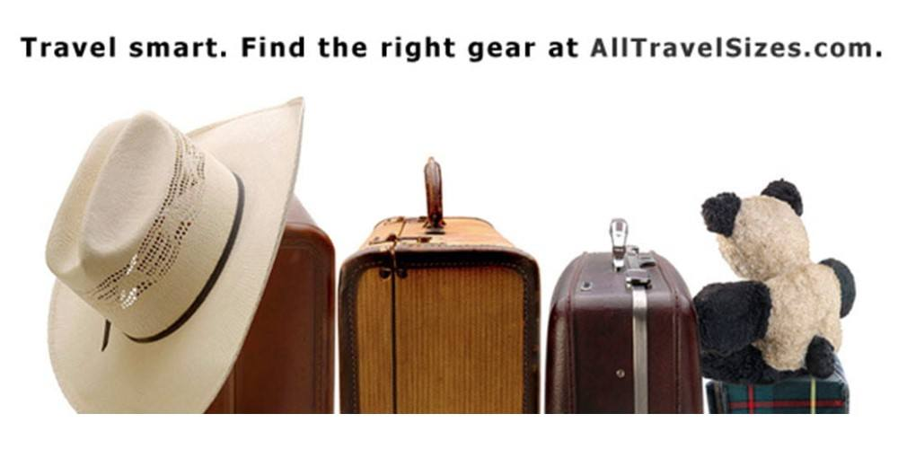 all travel sizes home page