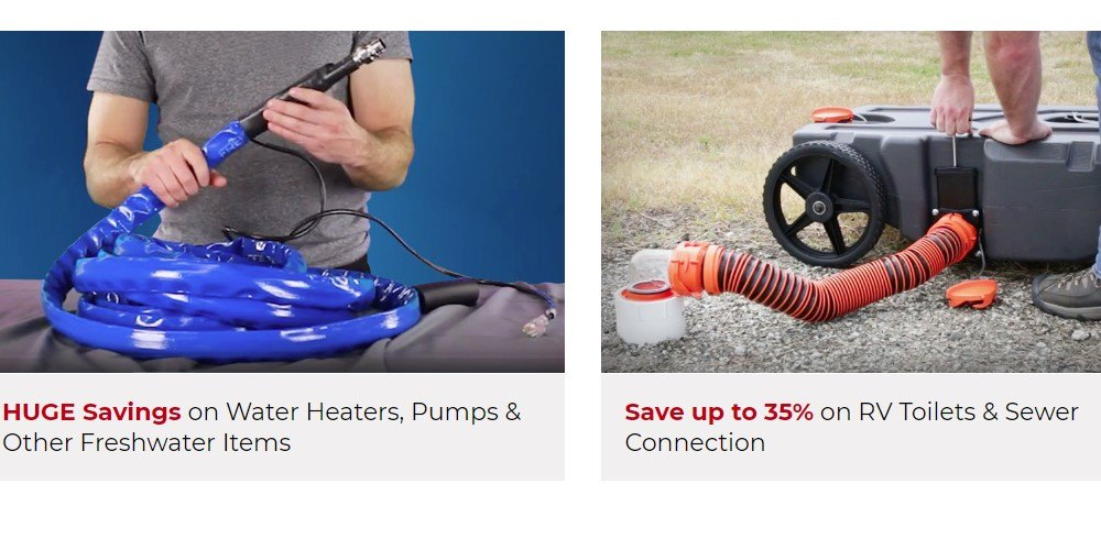 camping world home page