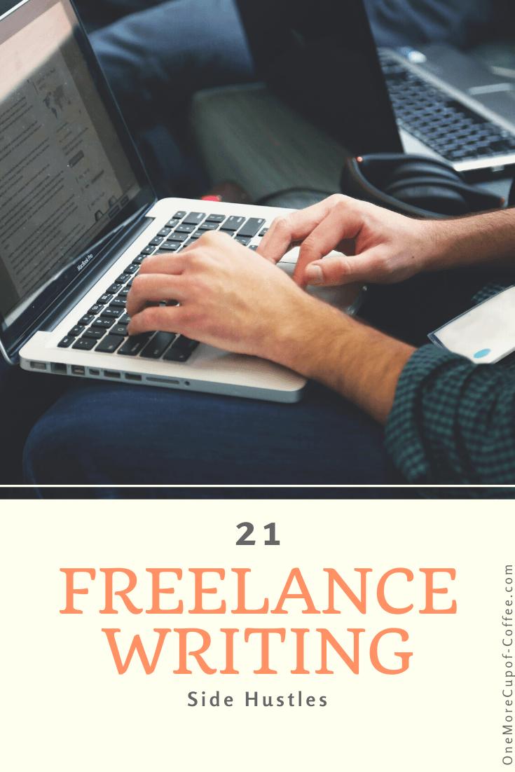 freelance writing side hustles