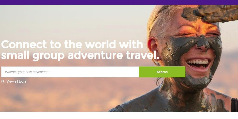 g adventures home page