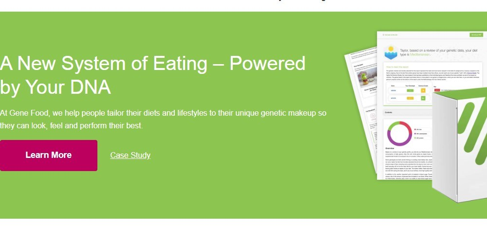 gene food home page