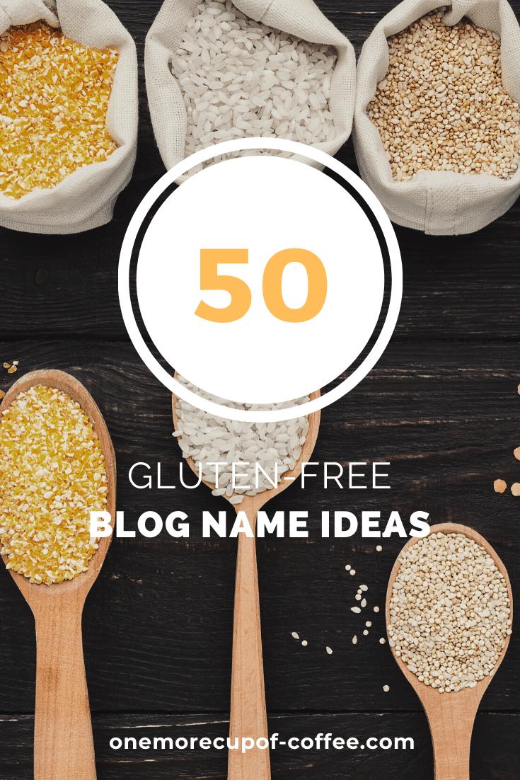 gluten-free blog name ideas