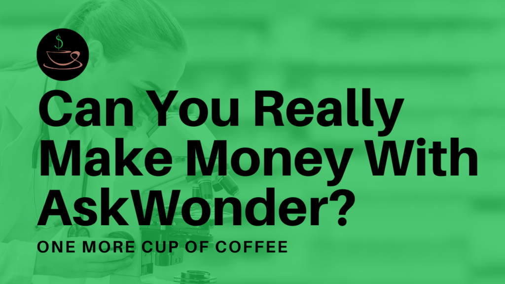 make money askwonder