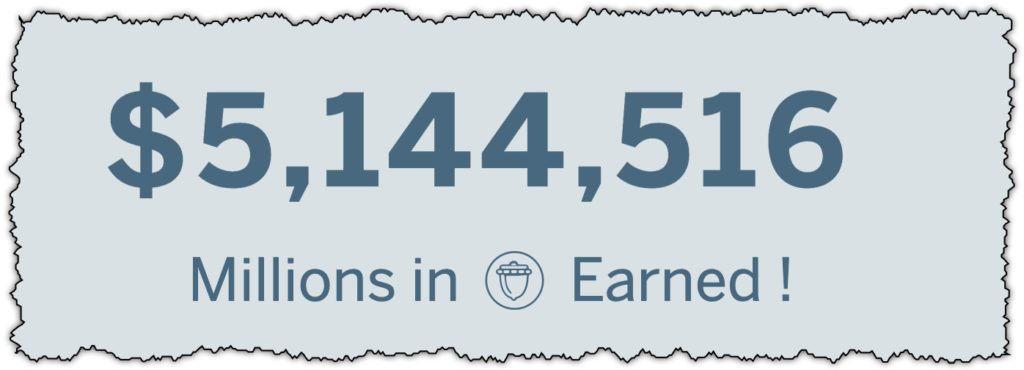 rewardable app earnings