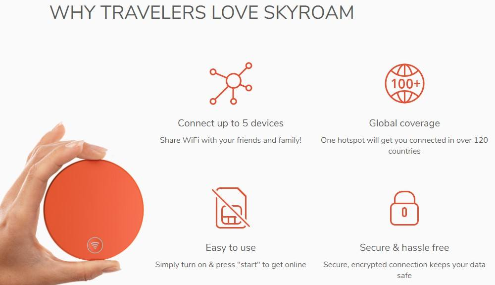 skyroam affiliate sign up page