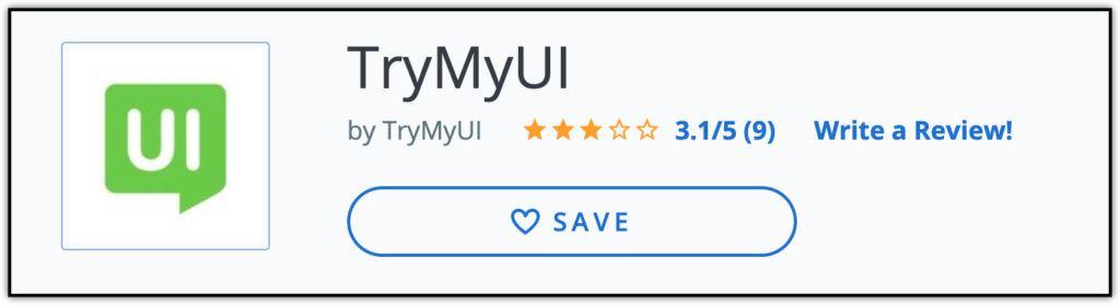 trymyui 9 user reviews