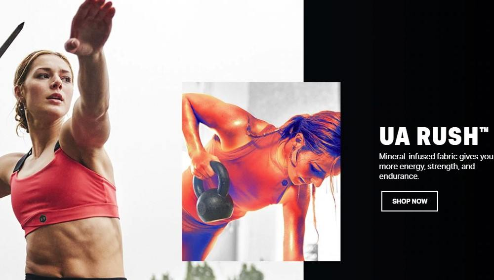 under armour home page