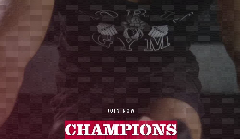 world gym home page