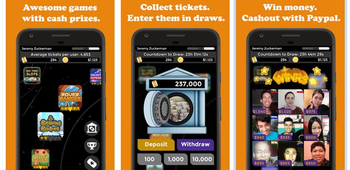 Big Time Cash Website Screenshot