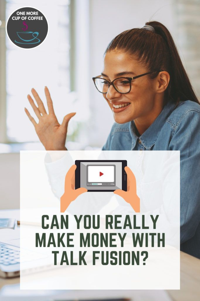 woman using video chat on computer with title text