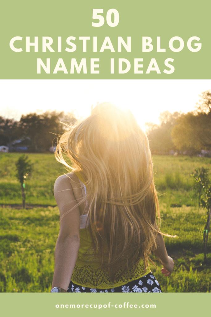 Christian blog Name Ideas