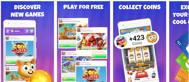 CoinPop Website Screenshot