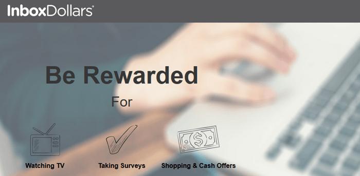 InboxDollars Website Screenshot
