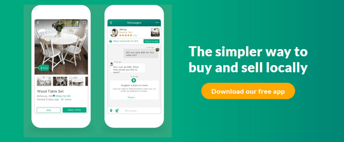 OfferUp Website Screenshot