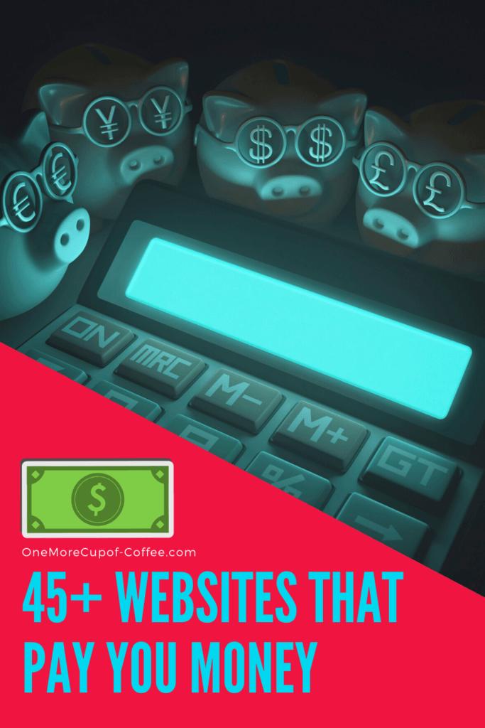 websites pay you money