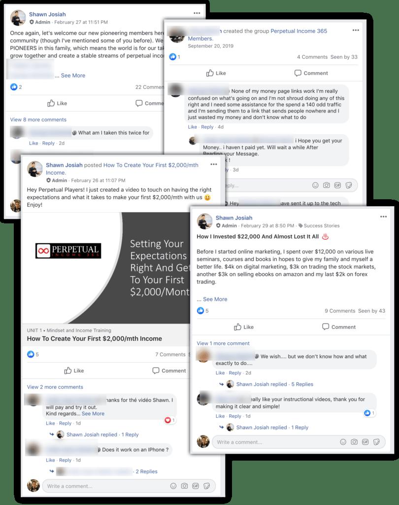 pi365 facebook group support