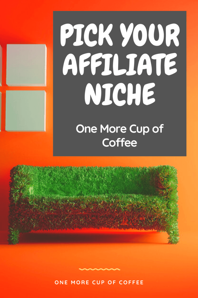 pick your affiliate niche