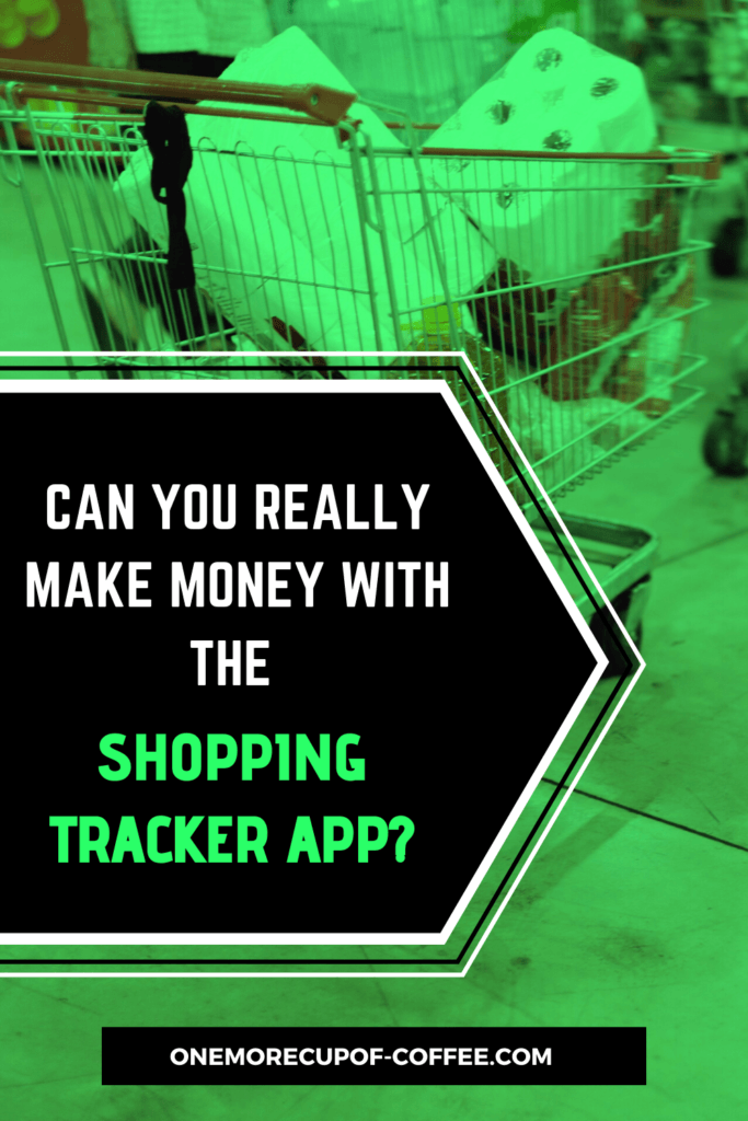 Can You Really Make Money With The Shopping Tracker App Pinterest Image
